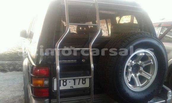 Buy Used Mitsubishi Pajero Black Car in Dili in Dili