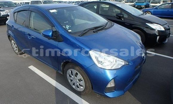 Buy Used Toyota Aqua Blue Car in Dili in Dili