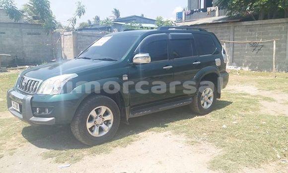 Buy Used Toyota Prado Green Car in Dili in Dili