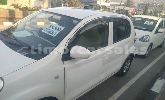 Buy Used Toyota Passo White Car in Dili in Dili