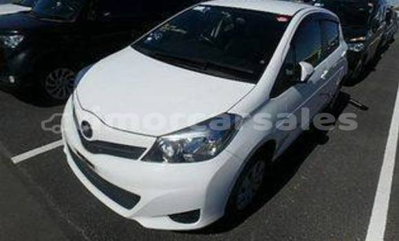 Buy Used Toyota Vitz White Car in Dili in Dili