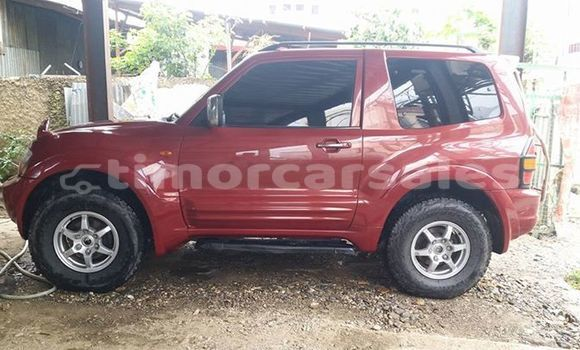 Buy Used Mitsubishi Pajero Red Car in Dili in Dili