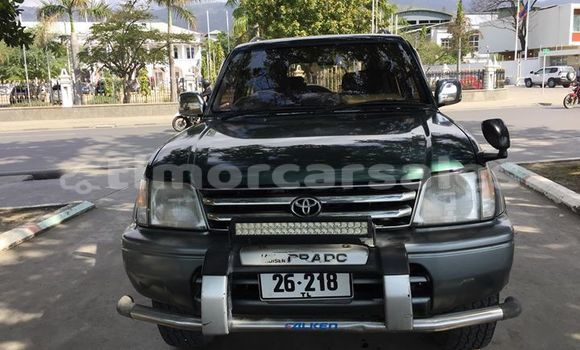 Buy Used Toyota Land Cruiser Prado Green Car in Dili in Dili