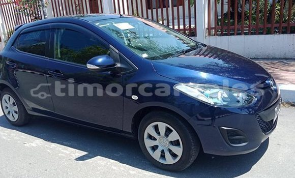 Buy Used Mazda Demio Blue Car in Dili in Dili