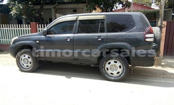 Buy Used Toyota Prado Black Car in Dili in Dili