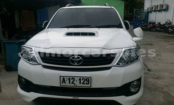 Buy Used Toyota Fortuner White Car in Dili in Dili