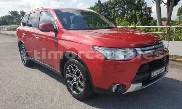 Buy Used Mitsubishi Outlander Red Car in Dili in Dili