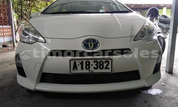 Buy Used Toyota Aqua White Car in Dili in Dili