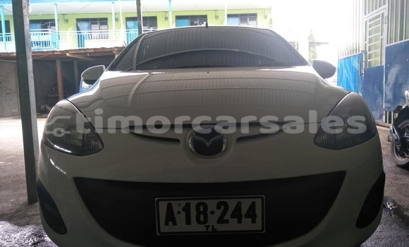 Buy Used Mazda Demio White Car in Dili in Dili