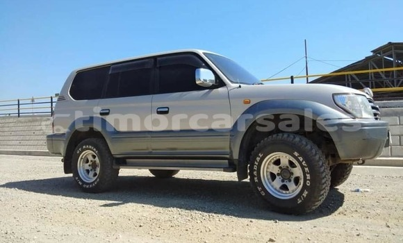Buy Used Toyota Land Cruiser Prado Silver Car in Dili in Dili