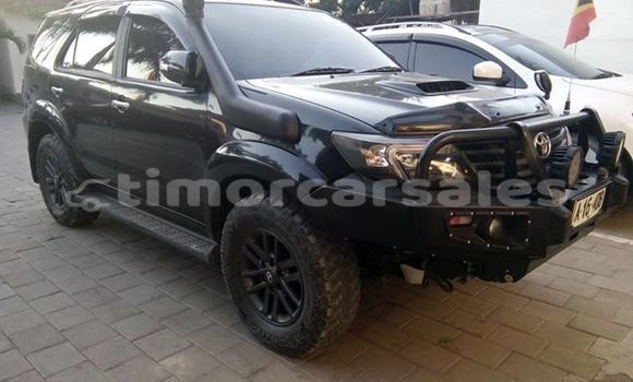 Buy Used Toyota Fortuner Black Car in Dili in Dili