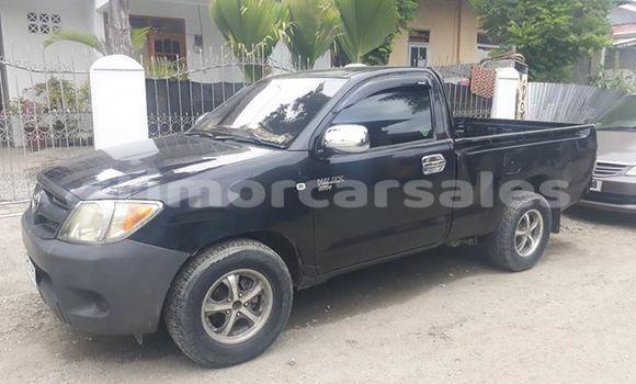 Buy Used Toyota Hilux Black Car in Dili in Dili