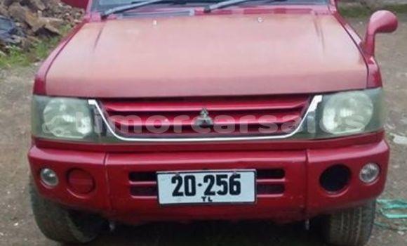 Buy Used Mitsubishi Pajero Red Car in Dili in Dili