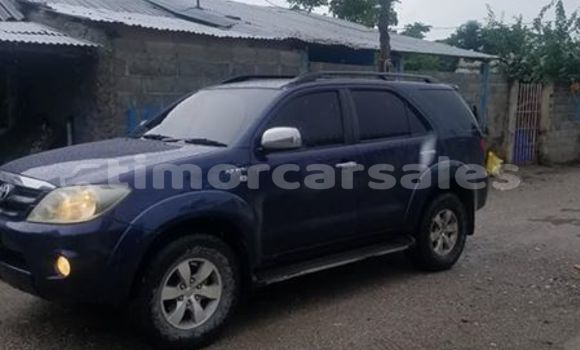 Buy Used Toyota Fortuner Blue Car in Dare in Dili