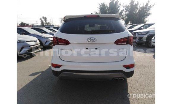 Buy Import Hyundai Santa Fe White Car in Import - Dubai in Aileu