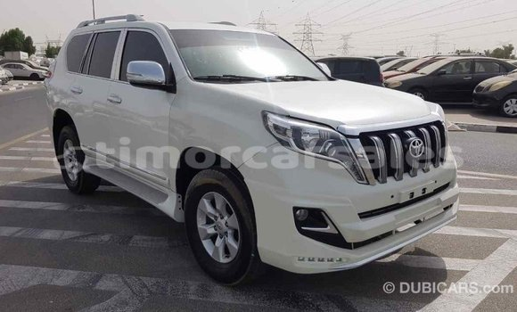 Buy Import Toyota Prado White Car in Import - Dubai in Aileu