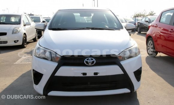 Buy Import Toyota Yaris White Car in Import - Dubai in Aileu