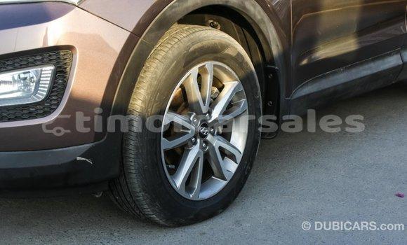 Buy Import Hyundai Santa Fe Brown Car in Import - Dubai in Aileu