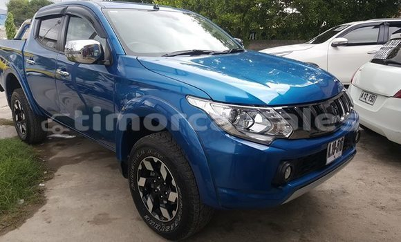 Buy Used Mitsubishi Triton Blue Car in Dili in Dili